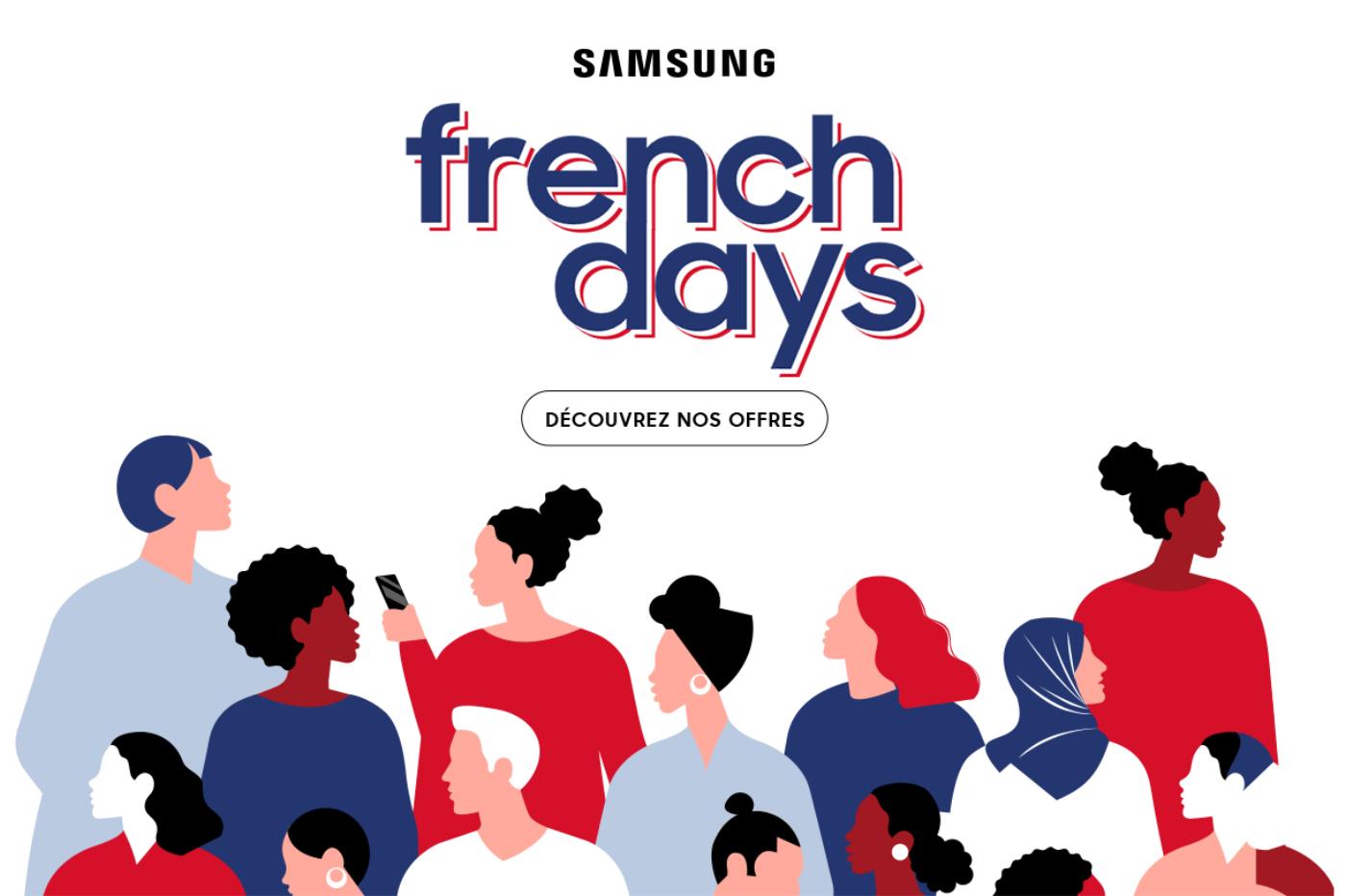 French Days Samsung