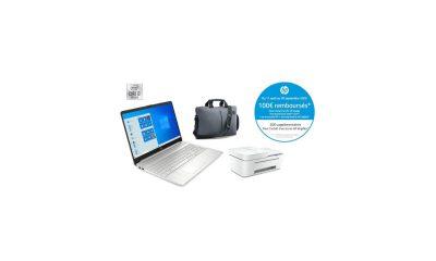HP 15S, sacoche, imprimante