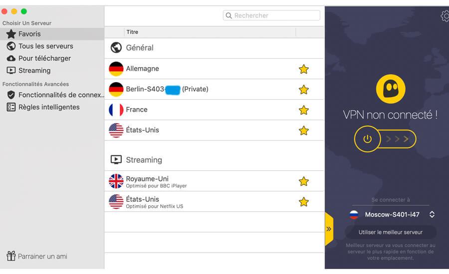 IP dédiée CyberGhost VPN