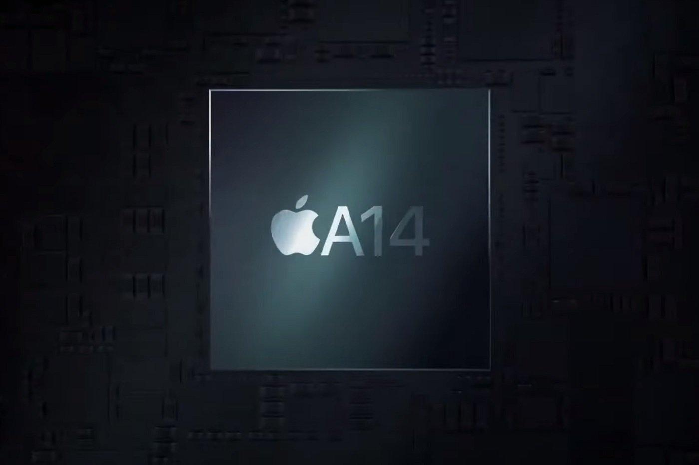 Le processeur A14 d'Apple