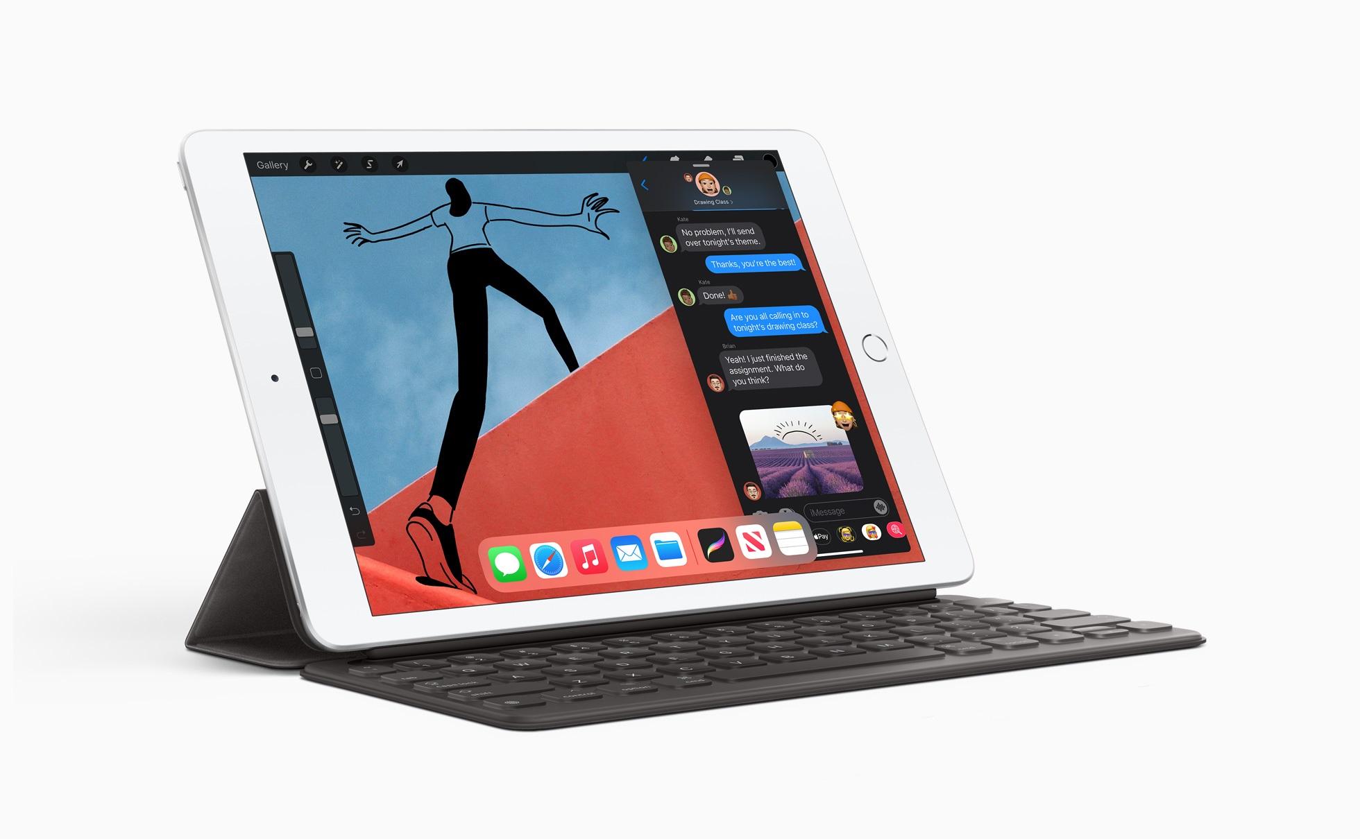 L'iPad de 8ème génération