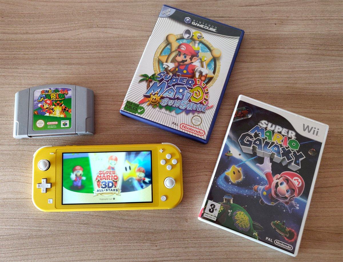 Test Super Mario 3D All Stars Switch