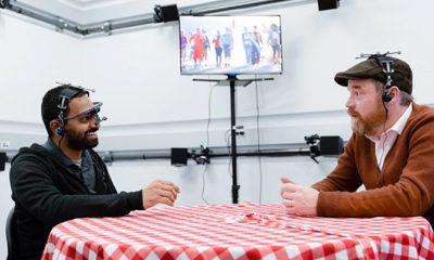 Prototype de réalité augmentée de Facebook Reality Labs