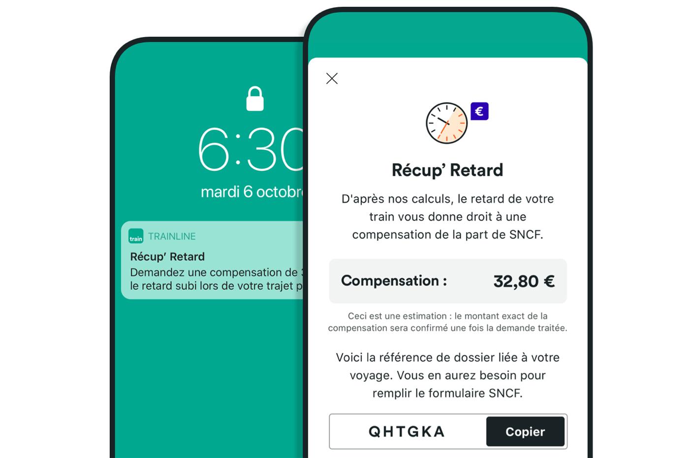Récup'Retard Application