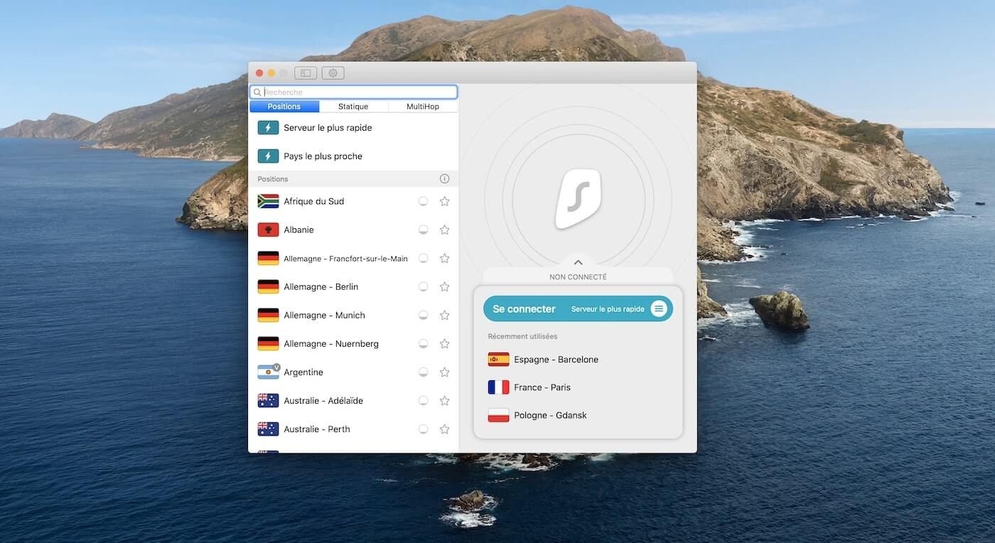 Surfshark App