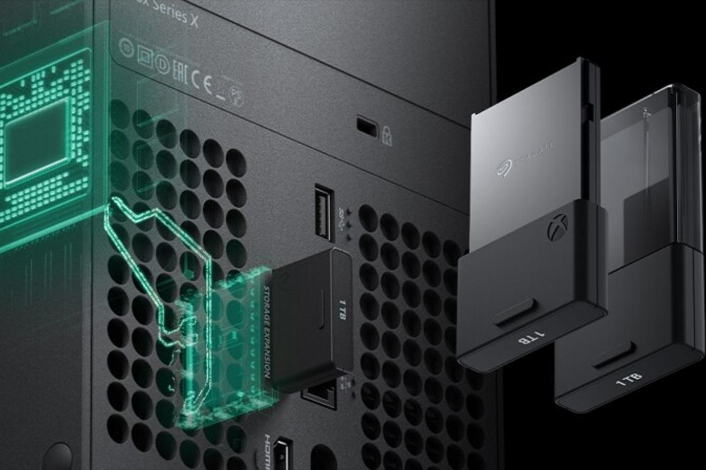 Seagate Xbox NVME