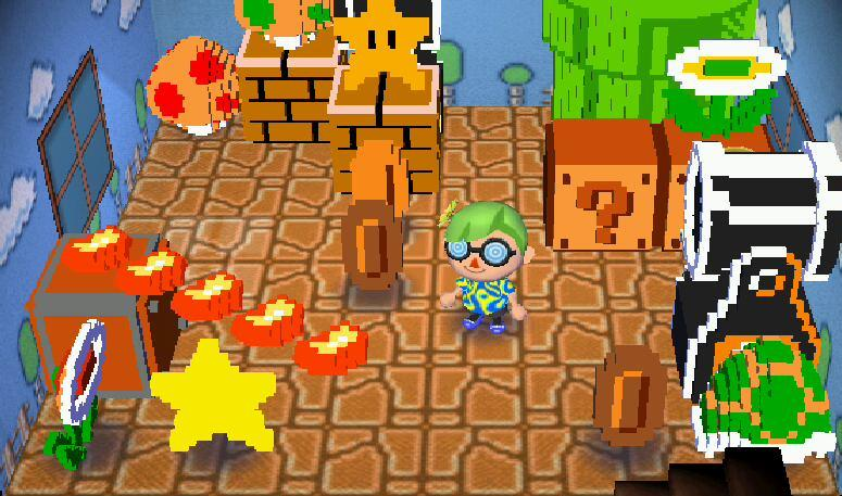 Super Mario Animal Crossing New Horizons