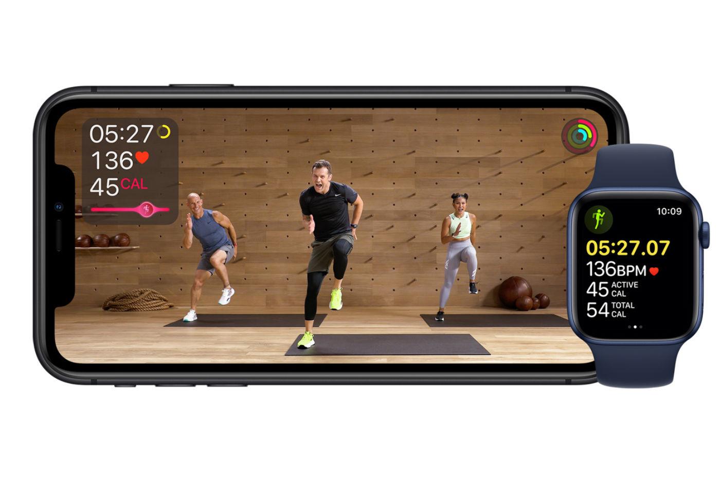 Apple lance Apple Fitness+