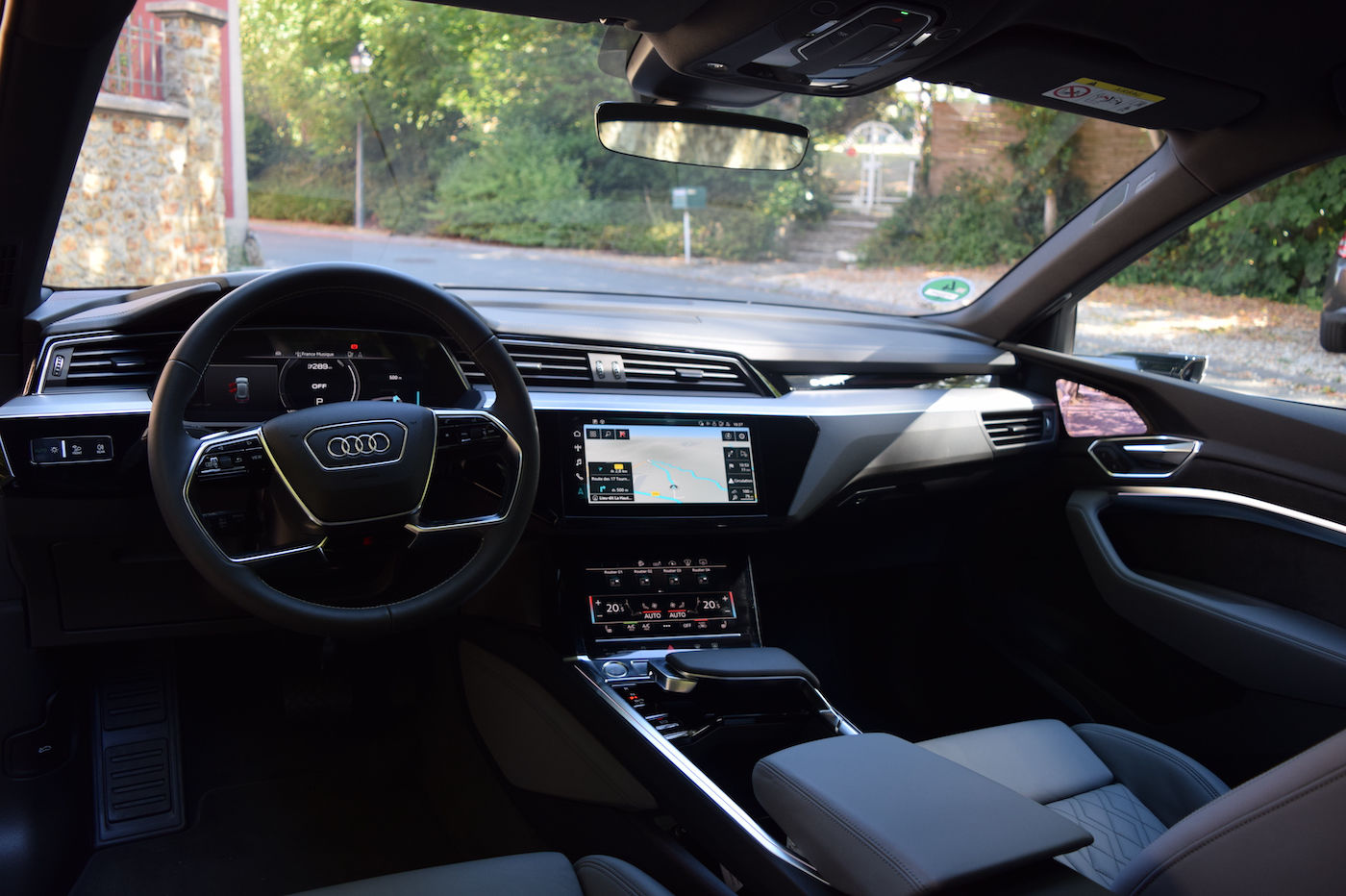 Audi e-tron Sportback avis habitacle