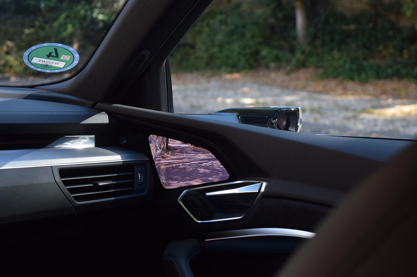 Audi e-tron Sportback avis retroviseurs