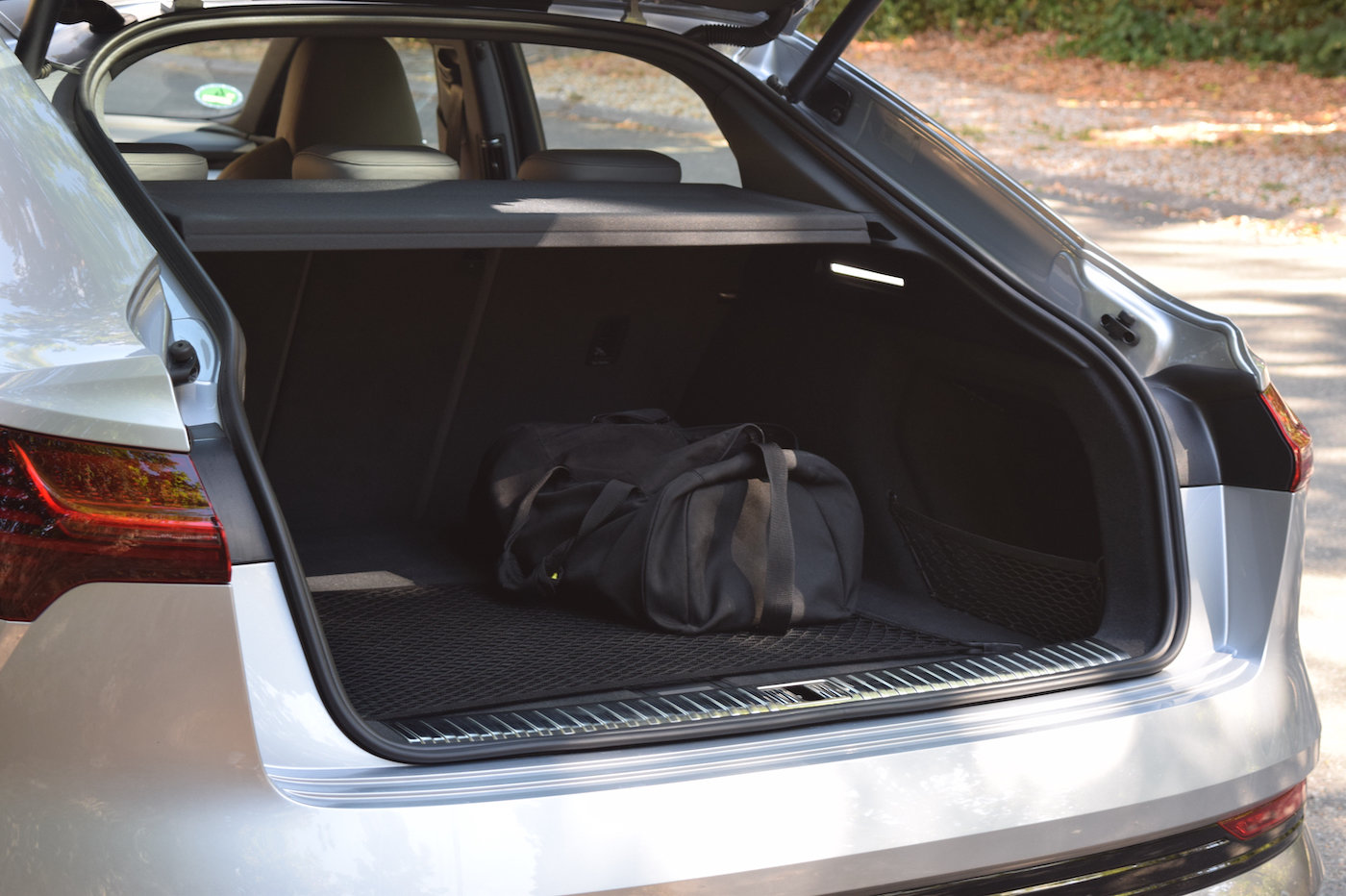Audi e-tron Sportback avis coffre