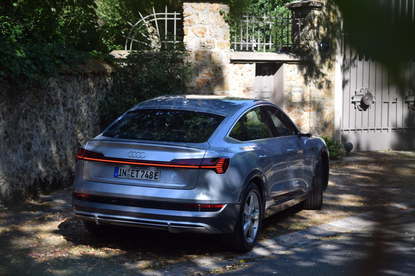 Audi e-tron Sportback essai avis