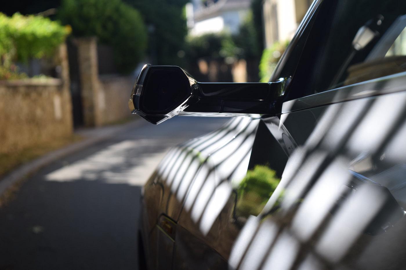 Audi e-tron Sportback retroviseurs