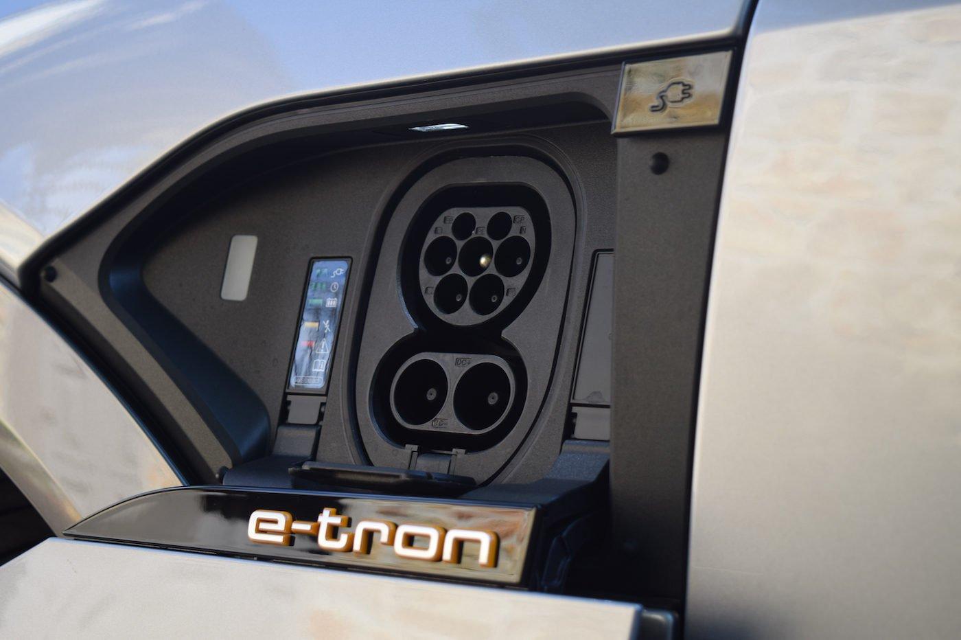 Audi e-tron Sportback recharge