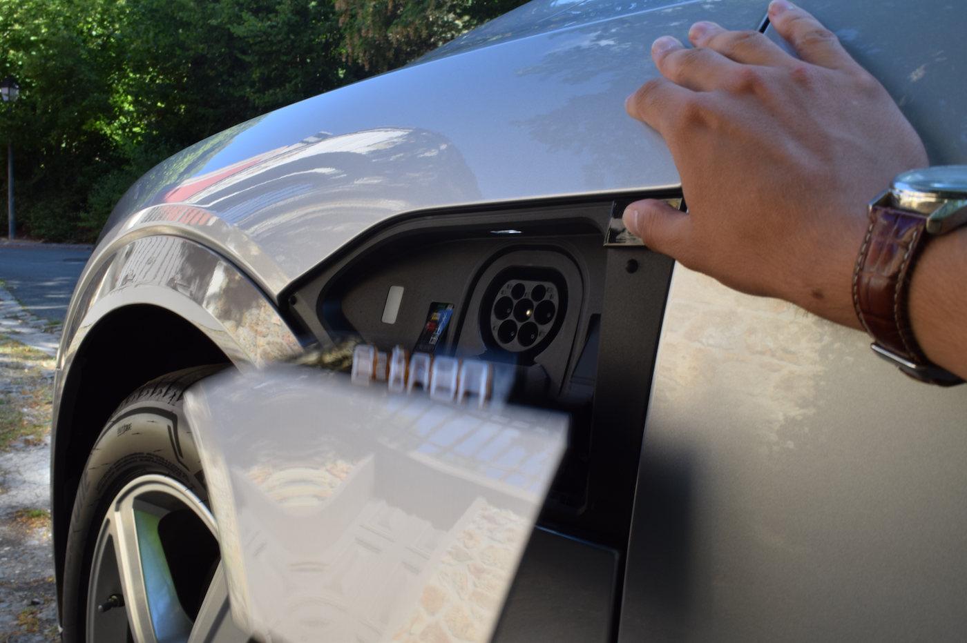 Audi e-tron Sportback recharge combo