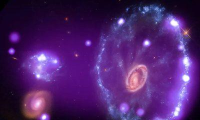 NASA : nouvelle image de Cartwheel Galaxy