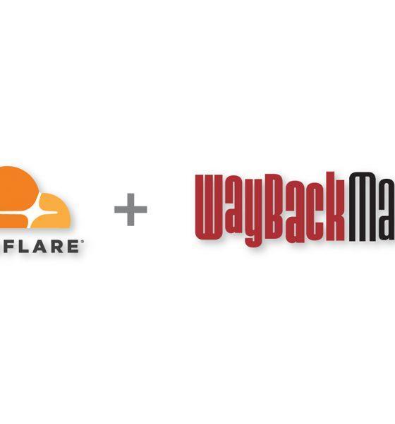 Cloudflare et Internet Archive Wayback Machine
