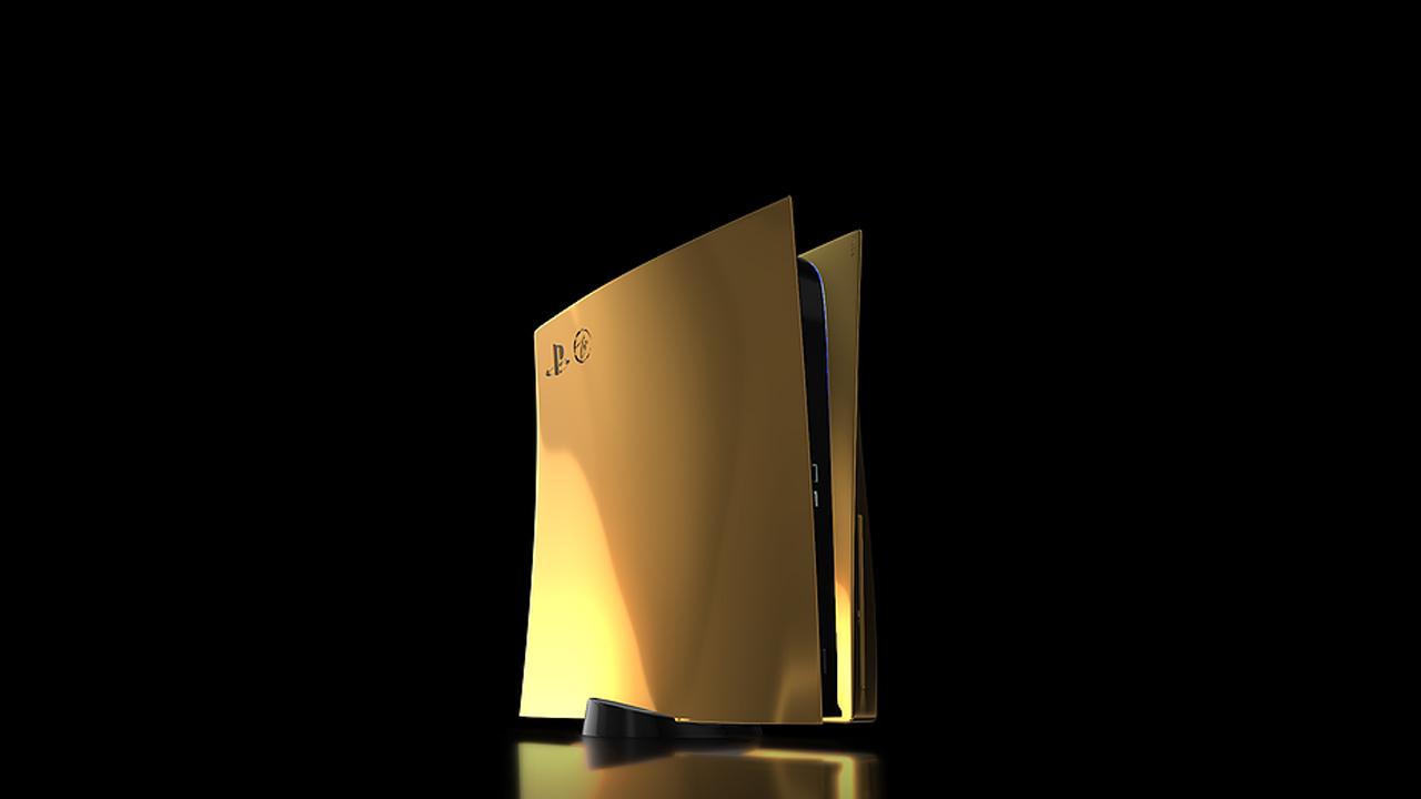 PS5 Gold 24 Carats
