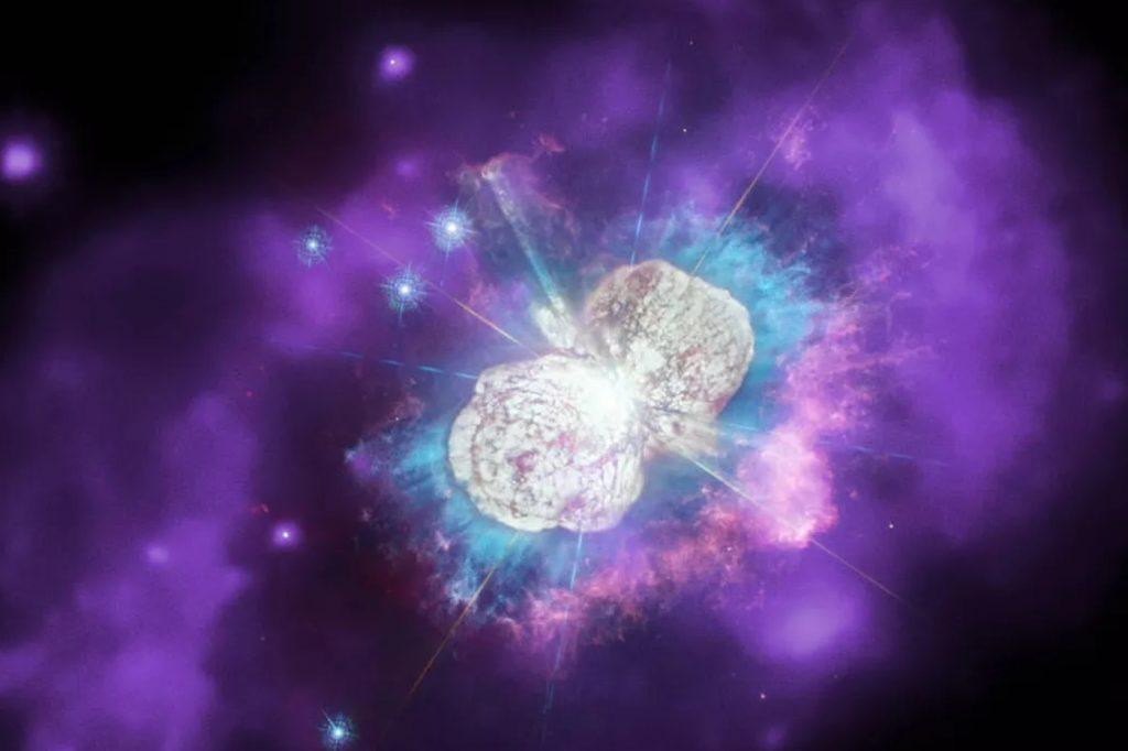 Eta Carinae pris par la NASA