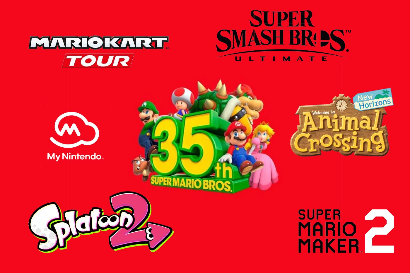 Événements Super Mario 35th Anniversary