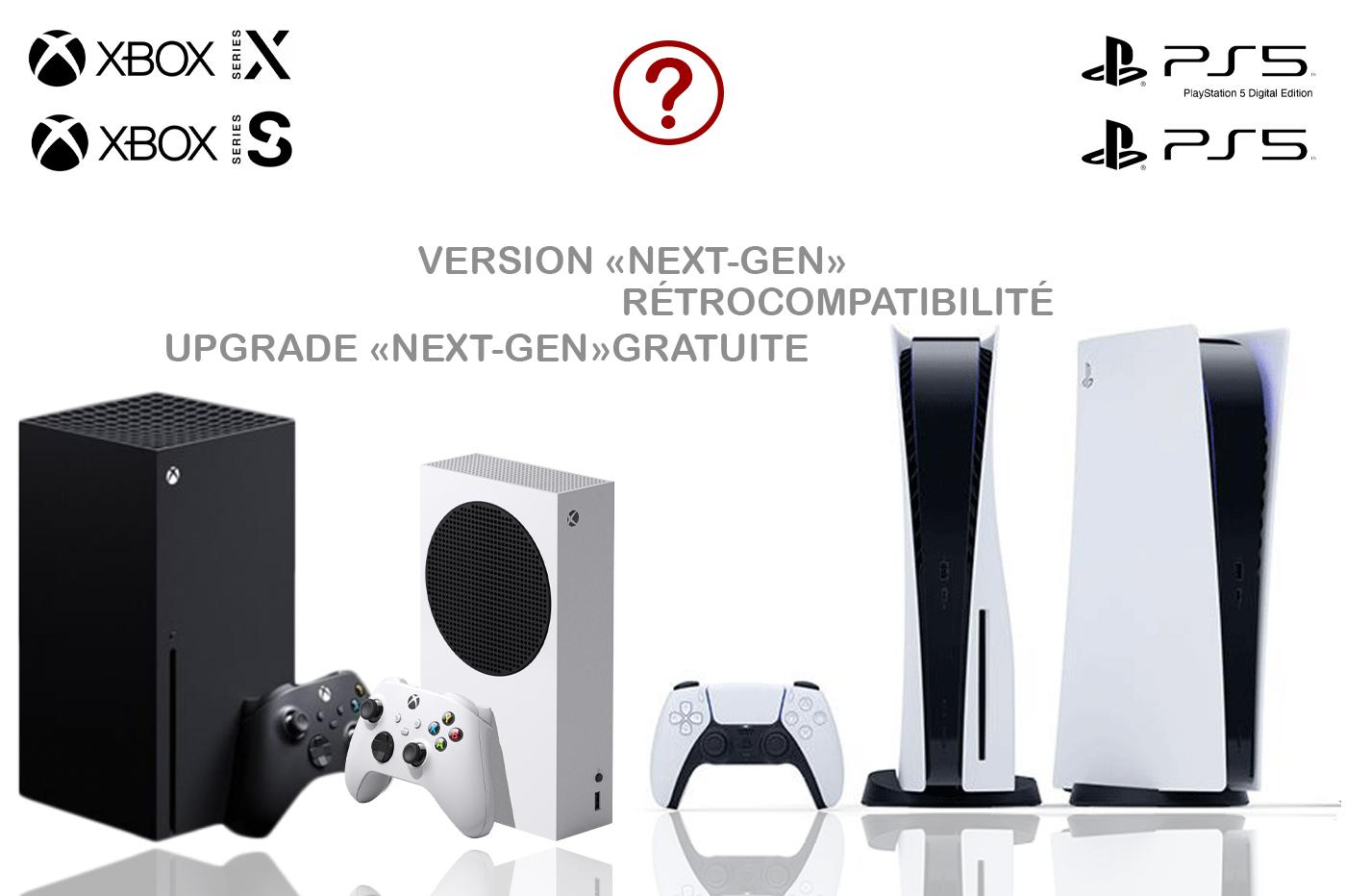 Termes Next-Gen PS5, Xbox Series X, Xbox Series S