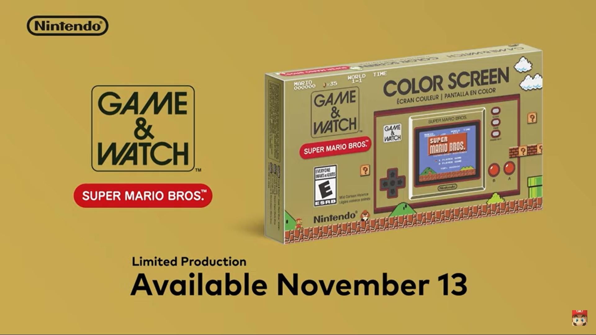 Game & Watch Super Mario 2020