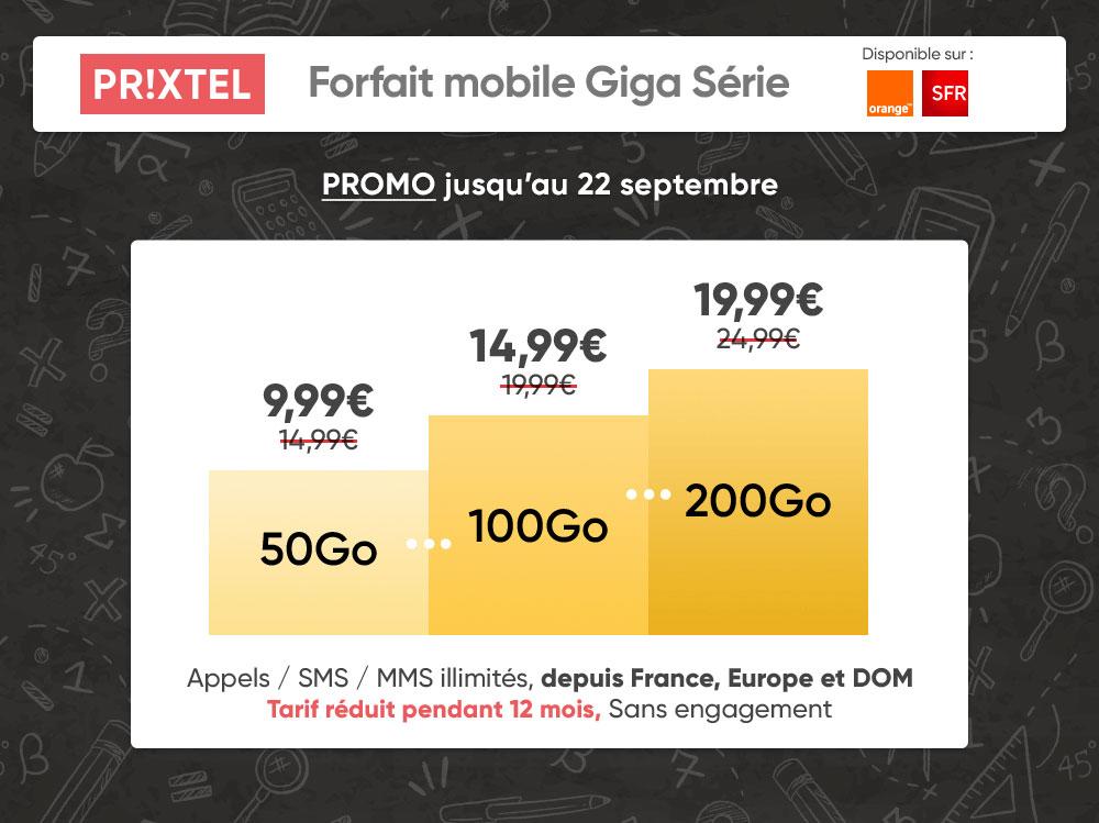 Forfait mobile Giga