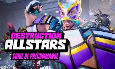 Guide Précommande Destruction AllStars PS5