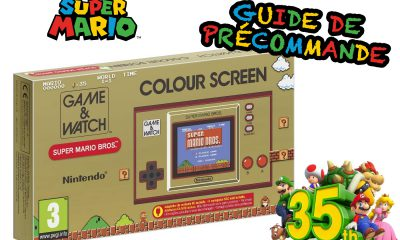 Guide Précommande Game & Watch Super Mario 35th Anniversary