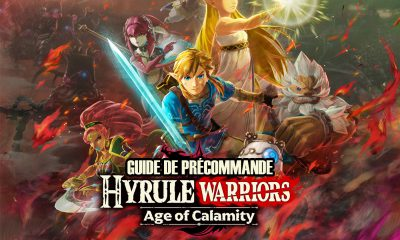 Guide Précommande Hyrule Warriors Age of Calamity