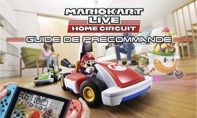 Guide Précommande Mario Kart Circuit Home
