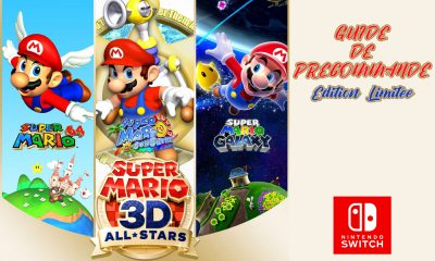 Guide Précommande Super Mario 3D-All Stars