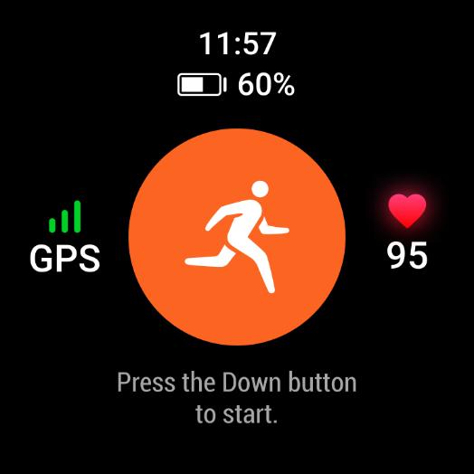 Huawei Watch GT 2 Pro écran sport