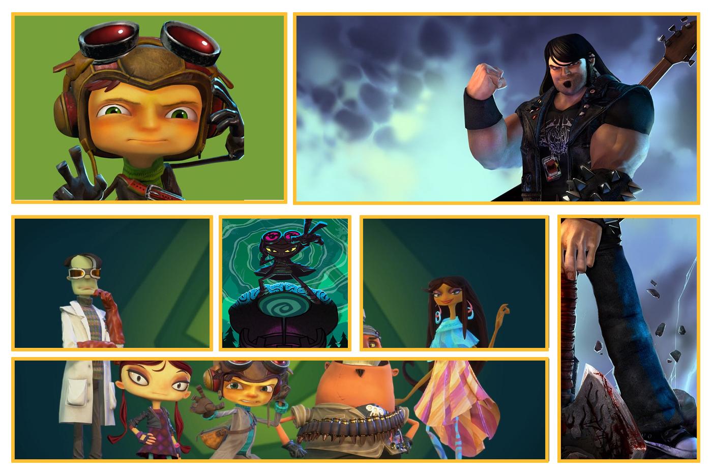Jeux Double Fine Productions