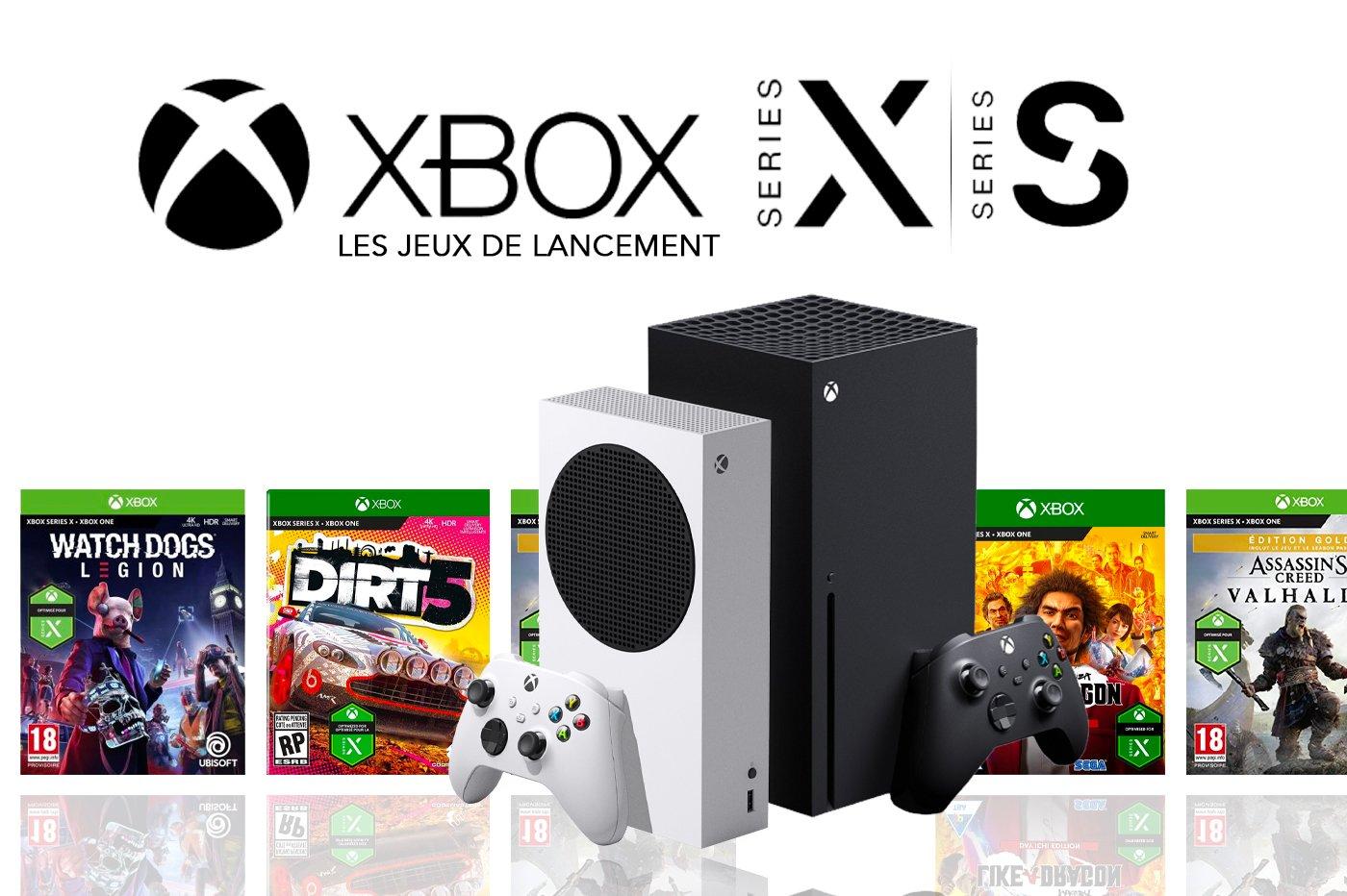 Jeux de lancement Xbox Series X Xbox Series S