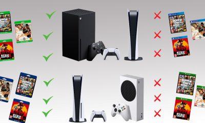 Jeux PS4 et Xbox One rétrocompatibles PS5 Xbox Series X et Xbox Series S