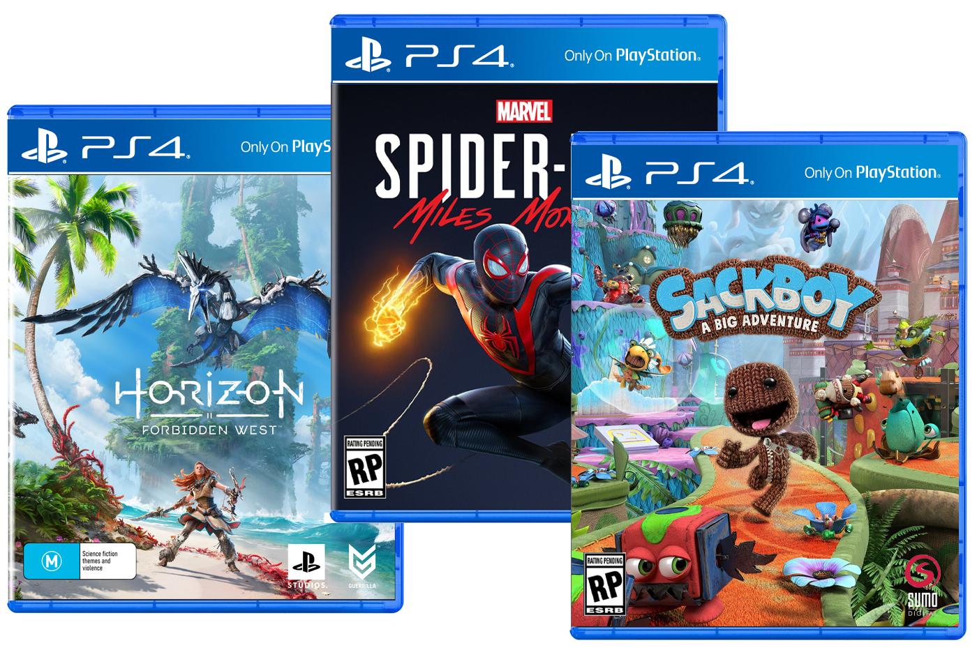 Jeux PS5 sur PS4