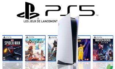 Jeux de lancement line-up PS5 PlayStation 5
