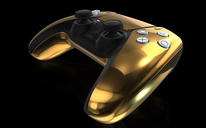 Manette PS5 Or