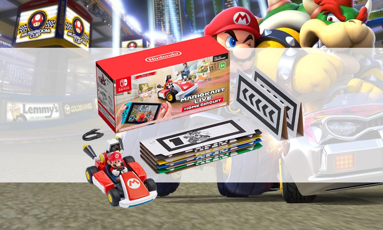 Mario Kart Live Home Circuit Contenu