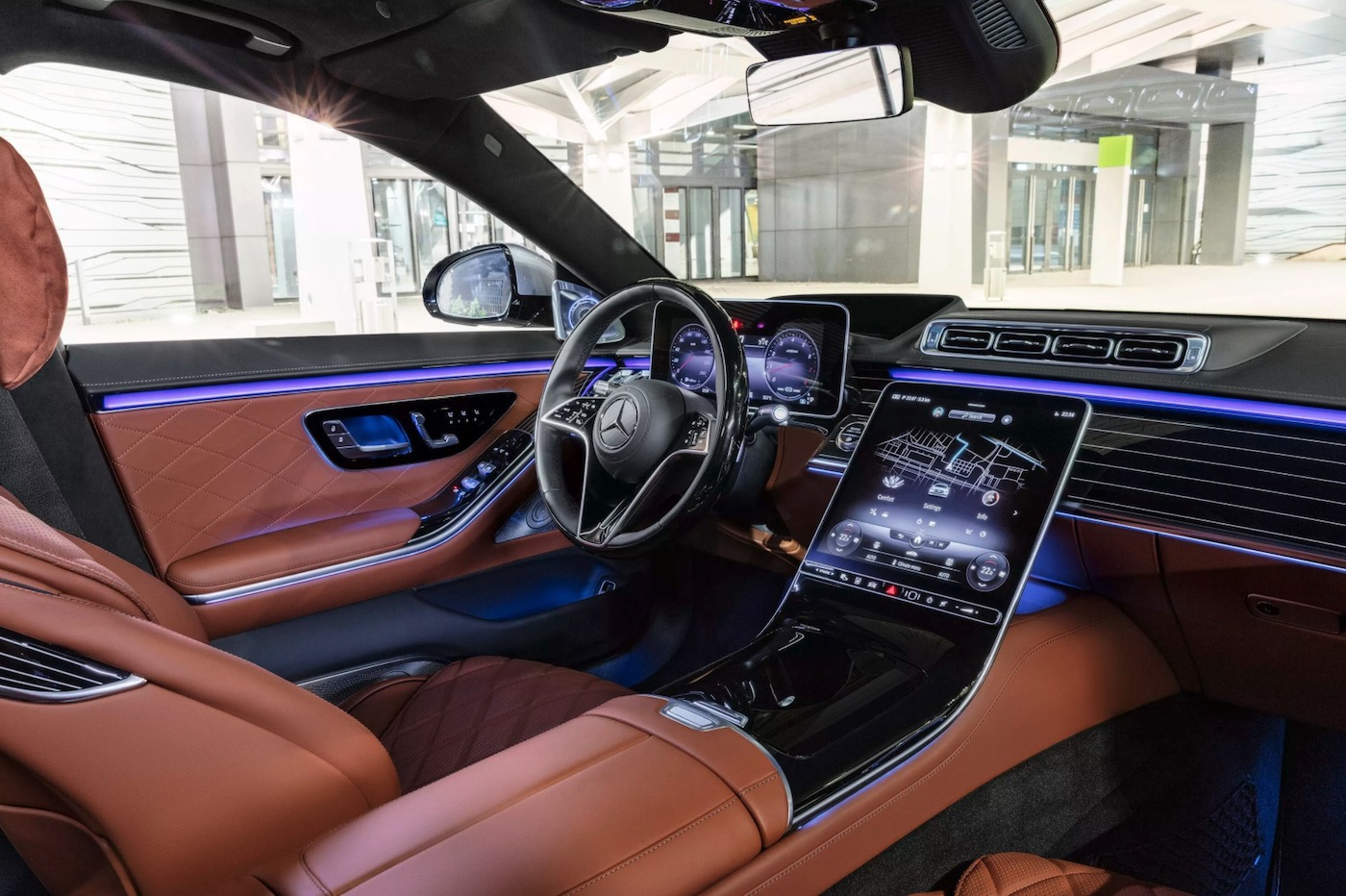 Mercedes Classe S habitacle
