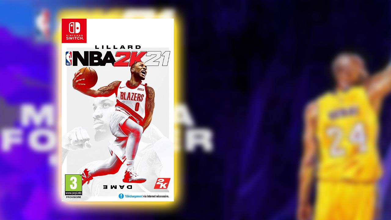 NBA 2K21 Amazon Exclusive Switch