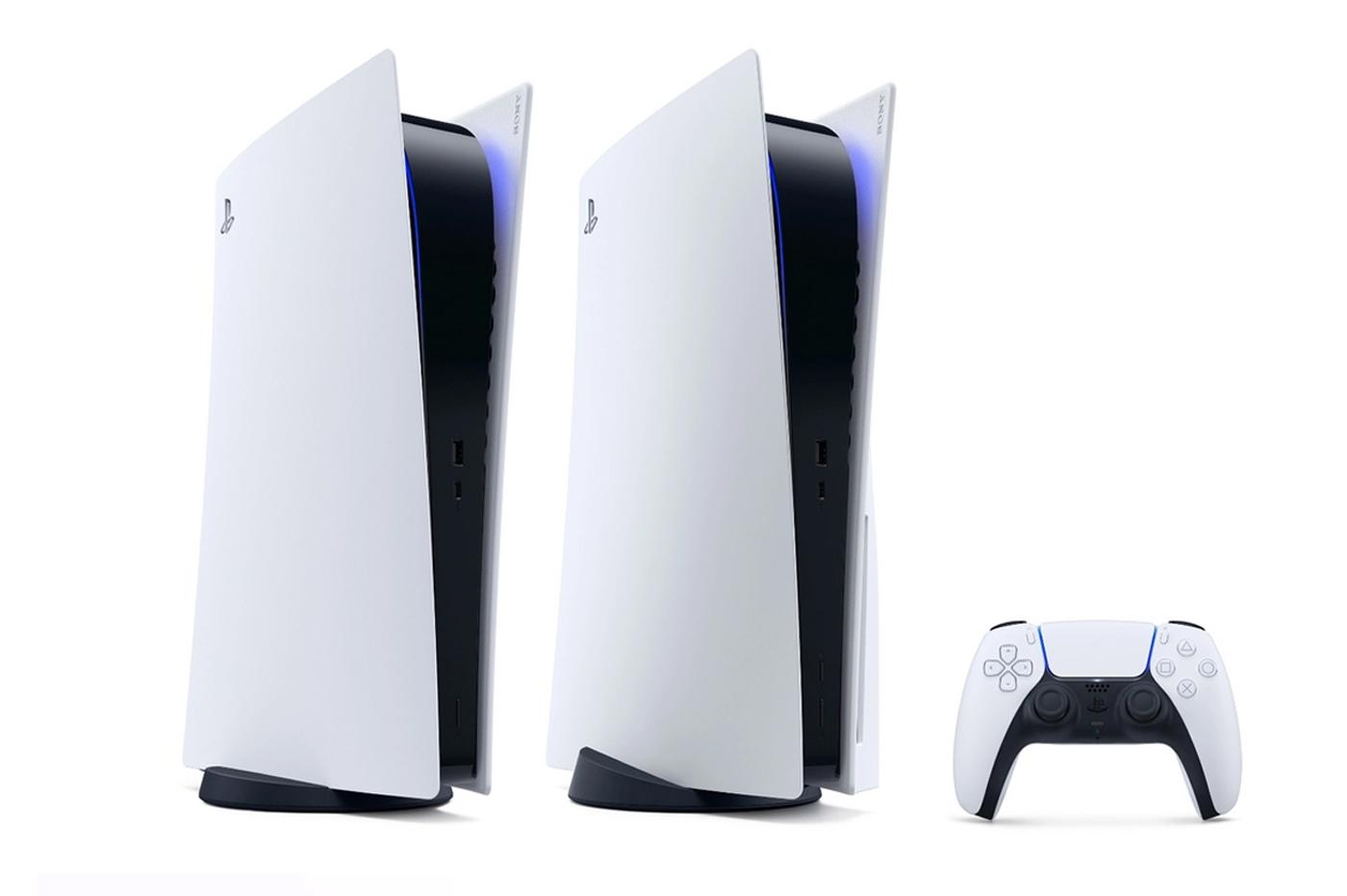 PlayStation 5 et PS5 Digital Edition