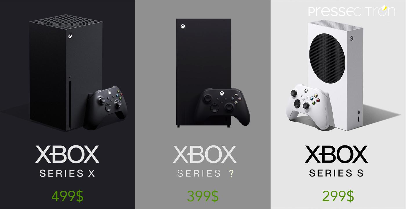 Prix Xbox Series X, Xbox Series V, Xbox Series S