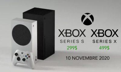 Xbox Series X Xbox Series S Prix Date de Sortie