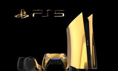 Précommandes PS5 Gold 24K
