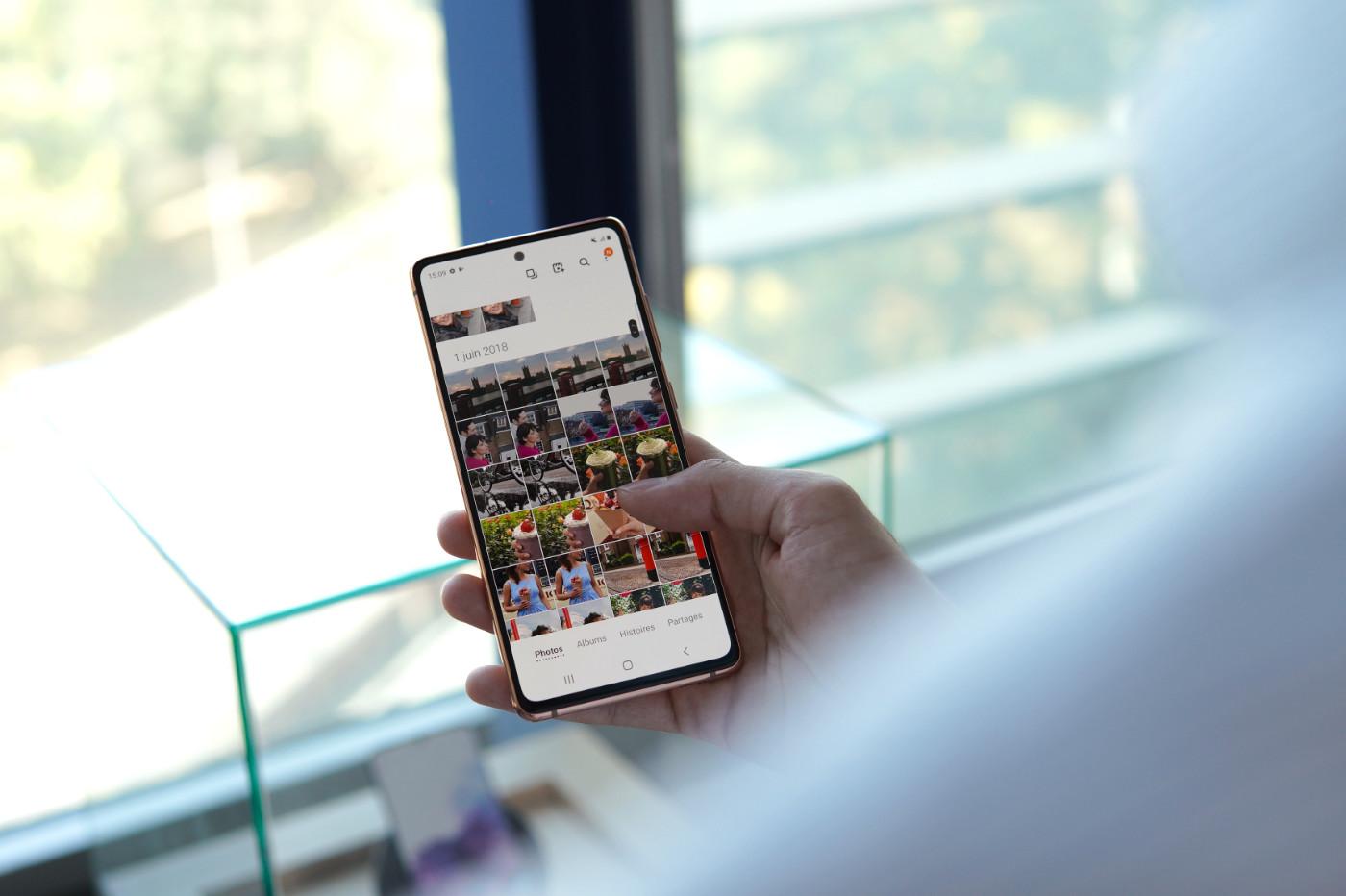 Samsung Galaxy S20 FE ecran