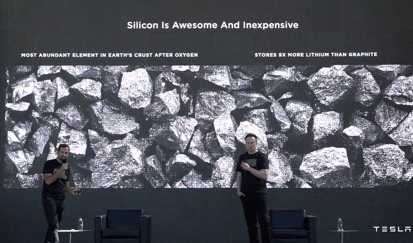 Tesla Silicon Battery Day