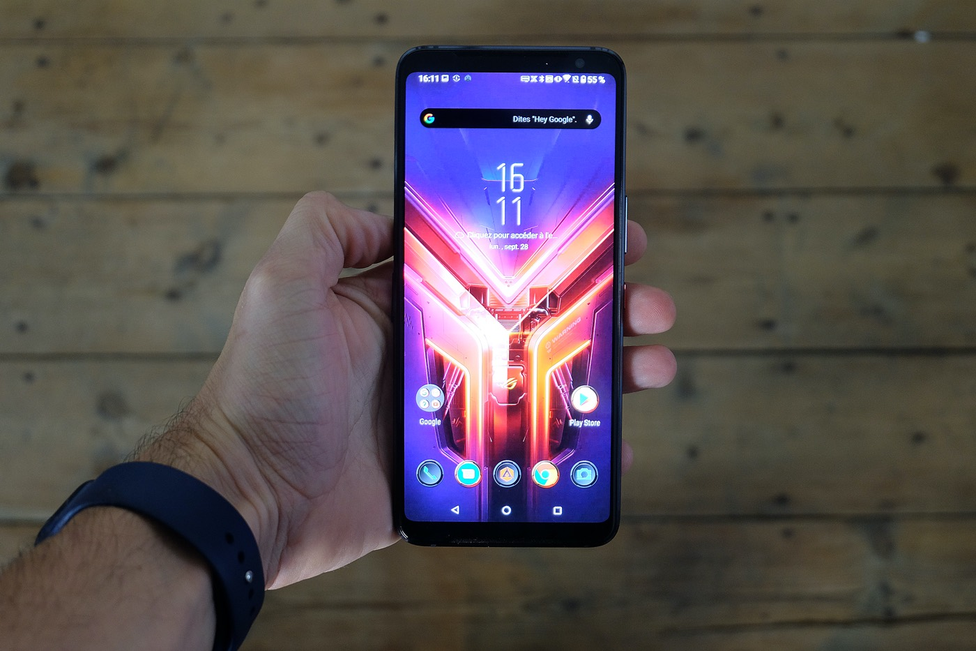 test asus rog phone 3 ecran