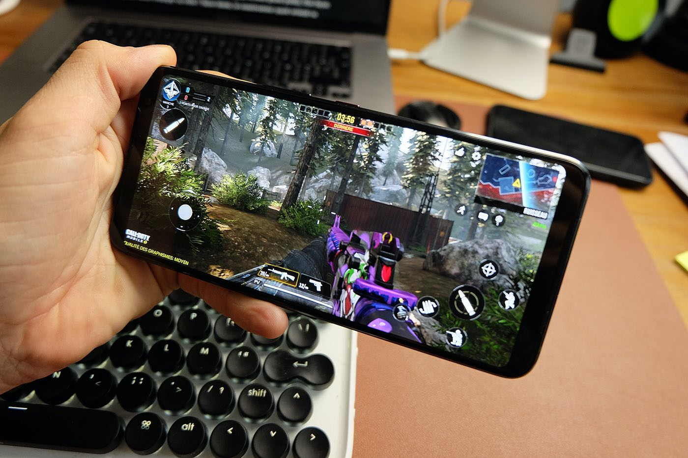 test asus rog phone 3 performances